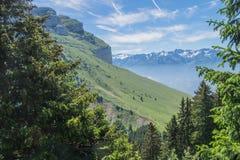 Pass of pravouta,saint pierre de chartreuse,isere,france. Park regional de chartreuse en isere stock photos