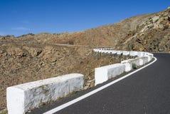 Pass road Canary Islands Fuerteventura Betancuria. Stock Photo