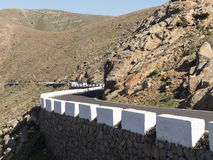 Pass road Canary Islands. Royalty Free Stock Photography
