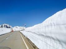 Pass road of Nufenen-Novena Stock Image