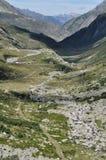 Pass road toward north, gottardo Royalty Free Stock Images