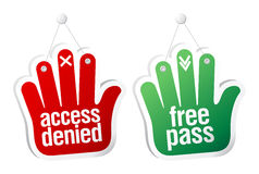 Pass tablets. Stock Images