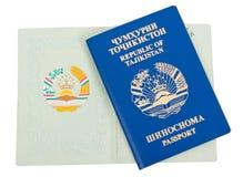 pass tajikistan Royaltyfri Foto