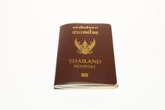Pass Thailand på isolatvitbakgrund Royaltyfri Foto