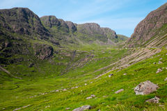 Pass to Applecross, Scotland Stock Photo
