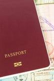 Pass und Visumsimmigration Lizenzfreie Stockfotografie