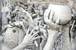 Passa la statua da inferno Immagine Stock Libera da Diritti