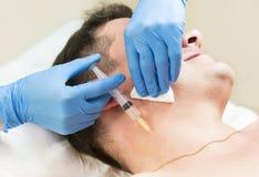 Passa un corso della clinica mesotherapy Fotografia Stock