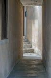 Passage étroit Photo stock