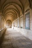 Passage. Of Paternoster church in Jerusalem royalty free stock photo