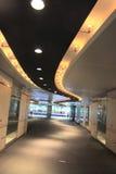 Passage. A passage through a modern building Stock Photo