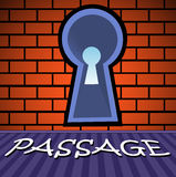 Passage Royalty Free Stock Photo