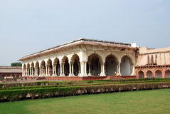 Passage of Agra Fort in India Royalty Free Stock Photography