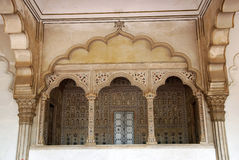 Passage of Agra Fort in India Royalty Free Stock Images