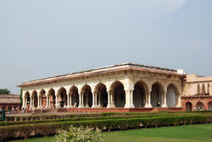 Passage of Agra Fort in India Stock Image