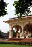 Passage of Agra Fort in India Stock Photos