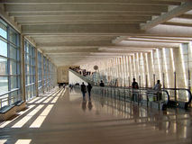 Passage in Airport Royalty Free Stock Photo
