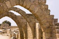 Passage arqué antique Images libres de droits
