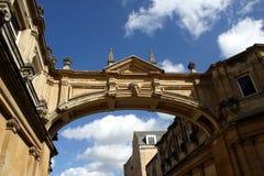 Passage arqué de Bath Image libre de droits