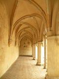 Passage arqué de château Photographie stock libre de droits