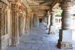 The passage of  astonishingly Keshava Temple. The passage of  astonishingly beautiful Keshava Temple in Somnathpur, Karnataka, India Royalty Free Stock Photos