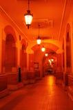 Passage bij nacht Royalty-vrije Stock Fotografie
