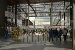 Passage at business hub, MILAN Stock Photos