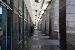 Passage in the city of Dubai Stock Photo