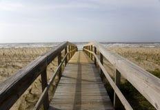 Passage clouté de dunes Image stock
