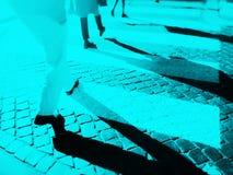 Passage clouté trouble de ville photos libres de droits