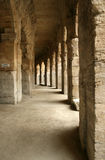 Passage in colloseum. Pssage in colloseum in arles(france Stock Image