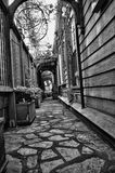 Passage couvert Image stock