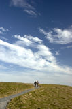Passage couvert au ciel photo libre de droits