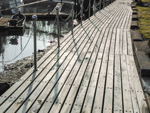 Passage couvert au lac Coldwater Images stock