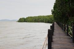 Passage couvert au lac Coldwater Photographie stock libre de droits