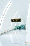passage couvert d'aéroport Photo libre de droits