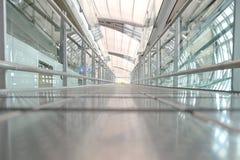 Passage couvert d'aéroport de Suwannabhumi Photographie stock