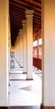 Passage couvert d'hôtel Photos stock