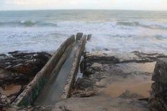passage couvert d'océan photo stock