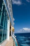 Passage couvert de bateau Images libres de droits
