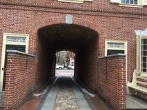 Passage couvert de Benjamin Franklin Photo stock