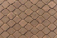 Passage couvert de brique Photo stock