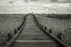 Passage couvert de Dungeness Image libre de droits