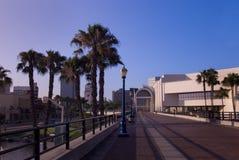 Passage couvert de Long Beach Photographie stock libre de droits