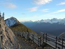 Passage couvert de montagne de soufre Images stock