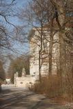 passage couvert de palais de nymphenburg image stock