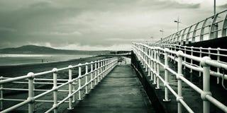 Passage couvert de plage images stock