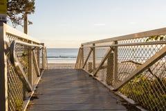 Passage couvert de plage Photos stock