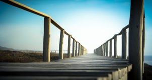 Passage couvert de plage Photo libre de droits