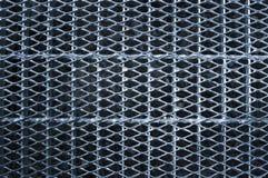 Passage couvert de réseau en métal Image stock